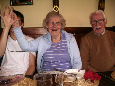 Graeme, Mum and Dad